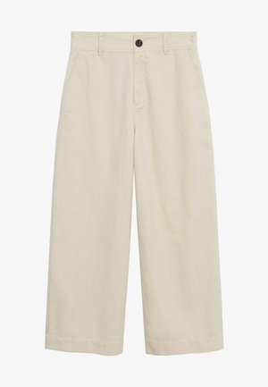 Trousers - ecru