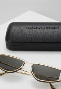 Alexander McQueen - Sunglasses - gold-coloured/grey - 2
