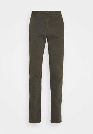 TRANSIT - Pantaloni - black green