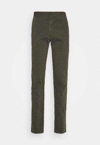 TRANSIT - Trousers - black green