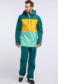PYUA - CREEK - Pantaloni da neve - petrol blue - 1