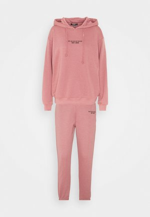 HOODY JOGGER SET - Sweatshirt - rose