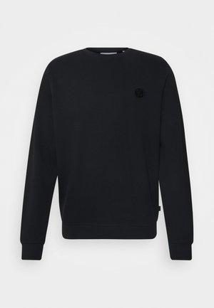 SEBASTIAN WITH BADGE - Sweater - anthracite black