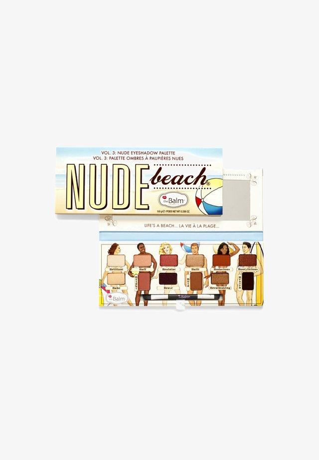 EYESHADOW PALETTE - Palette fard à paupière - nude beach
