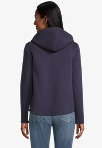 Amber & June - Zip-up sweatshirt - mittelblau - 2