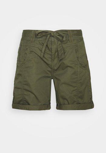 PLAY BERMUDA - Shorts - khaki green