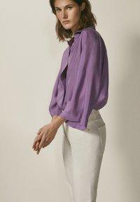 Massimo Dutti - Overhemdblouse - dark purple - 2