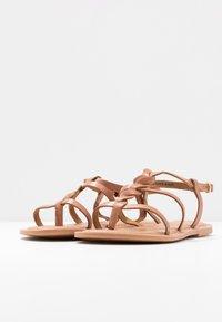 New Look Wide Fit - WIDE FIT GOA - Sandály s odděleným palcem - tan - 4