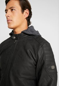 INDICODE JEANS - CHENIES - Faux leather jacket - black - 3