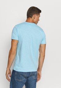 Tommy Hilfiger - SLUB TEE - T-shirt - bas - sail blue - 2
