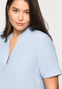 Selected Femme Curve - SLFALLA CURVE - Bluser - cashmere blue - 4