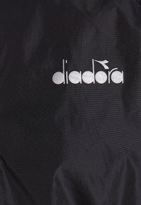 Diadora - WINDBREAKER JACKET - Chaqueta de deporte - black - 2