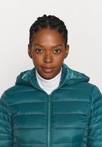 CMP - WOMAN JACKET SNAPS HOOD - Winter jacket - petrolio - 4