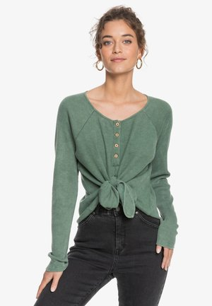 Long sleeved top - cilantro