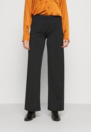 SILJE PANT - Pantalon classique - black