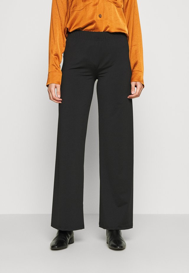 SILJE PANT - Trousers - black