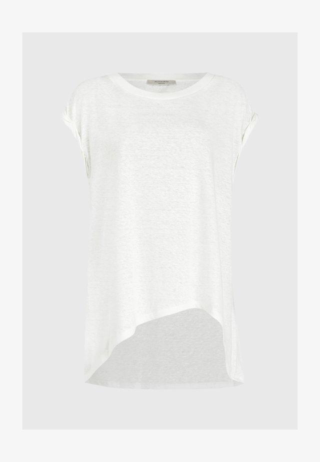 SANZA  - T-shirts print - white