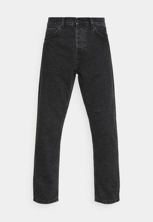 NEWEL PANT MAITLAND - Relaxed fit -farkut - black stone washed