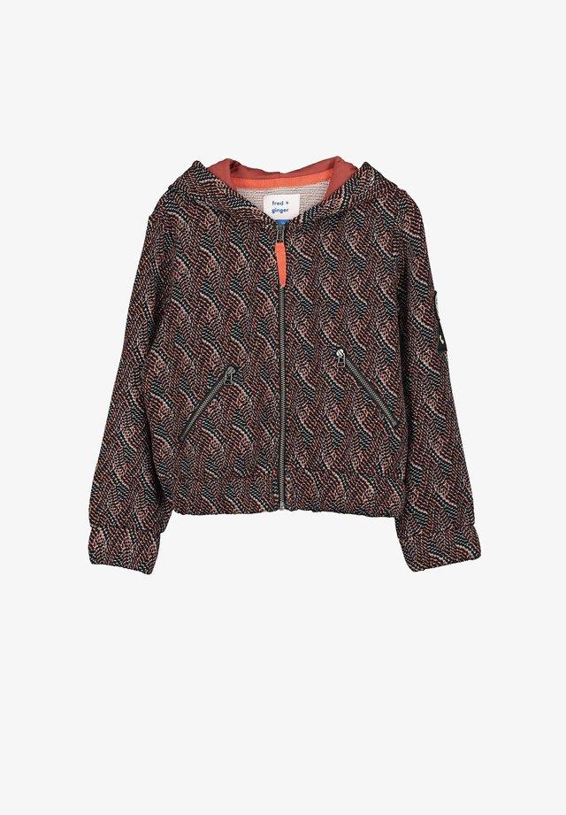 BOBBY - Zip-up hoodie - brown