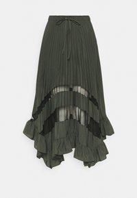 Claudie Pierlot - SELODE - Maxi skirt - vert foret - 0
