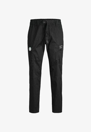 ACE PETE - Pantalon cargo - black