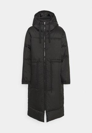 ALLY LONG PUFFER - Winter coat - black