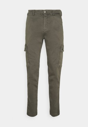 JAAN HYPERCARGO - Cargo trousers - olive