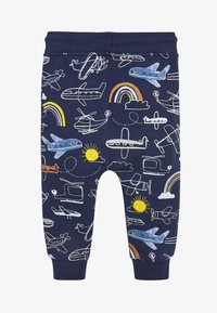 Next - NAVY AEROPLANE ALL OVER PRINT JOGGERS (3MTHS-7YRS) - Tracksuit bottoms - blue - 1