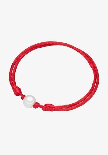 SÜSSWASSER - Bracelet - rot