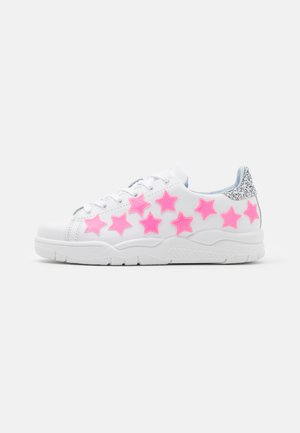 ROGER STAR - Sneakers laag - pink neon