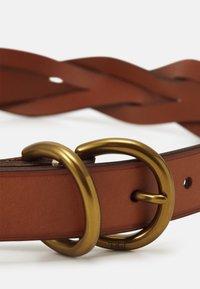 Polo Ralph Lauren - BELT SKINNY - Belt - cuoio - 2