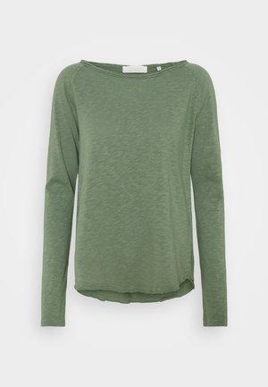 HEAVY LONGSLEEVE - T-shirt à manches longues - eukalyptus