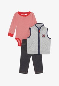 Carter's - ALL STAR SET - Bodywarmer - grey/blue denim