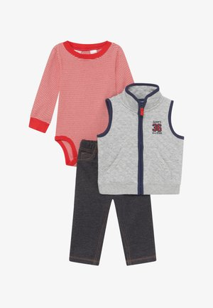 ALL STAR SET - Bodywarmer - grey/blue denim
