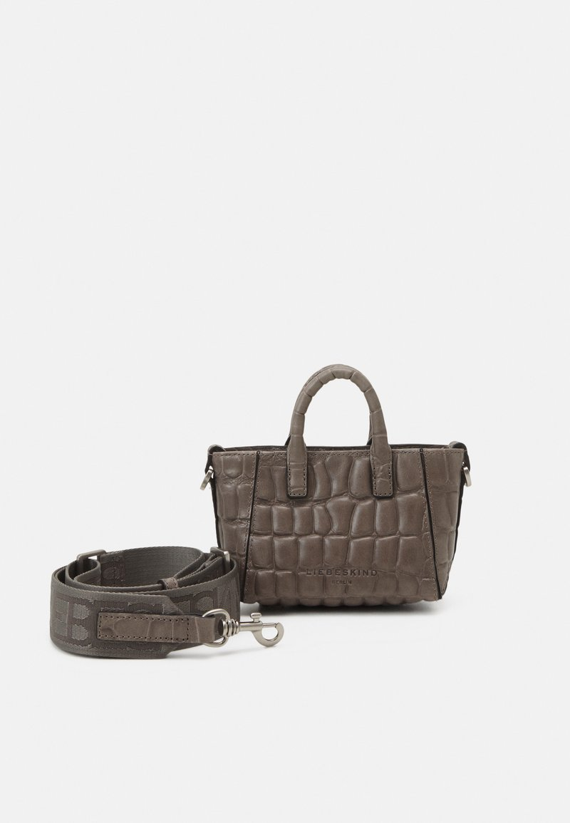 Liebeskind Berlin - ANCHELXS - Across body bag - honey grey