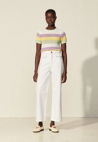 sandro - Straight leg jeans - blanc - 0