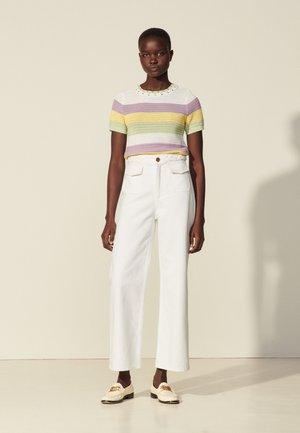 Straight leg jeans - blanc