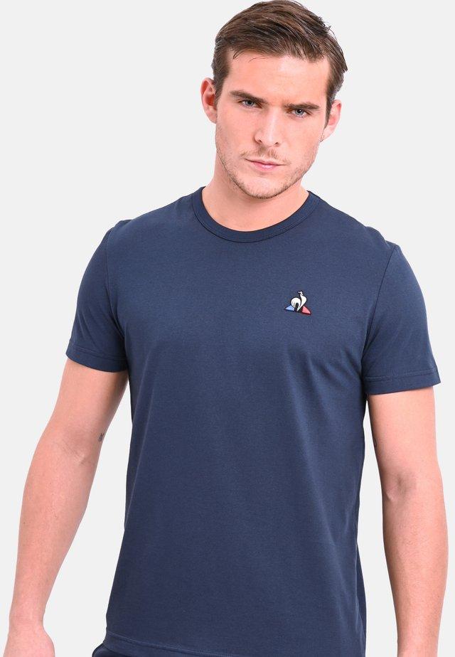 ESS TEE Basic T-Shirt - T-shirt basic - navy blue