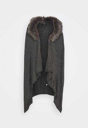 VERONIQUE LUXURY COSY - Strickjacke - medium grey