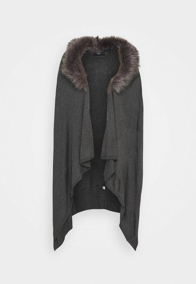 VERONIQUE LUXURY COSY - Cardigan - medium grey