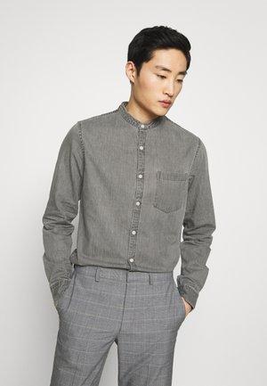 GRANDAD - Camisa - mid grey