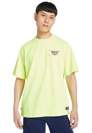 WORKWEAR - Print T-shirt - safety yellow