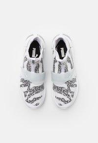 Puma - PROVOKE XT MID - Zapatillas de entrenamiento - white/metallic silver - 3