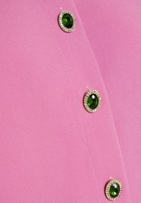 Sister Jane - GEM PLAYER BOW BLOUSE - Button-down blouse - pink - 5