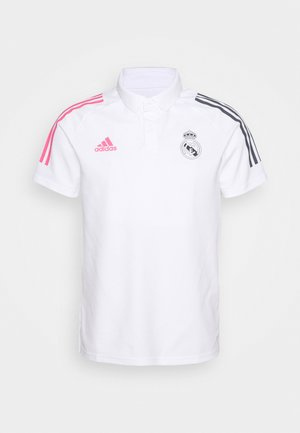 REAL MADRID SPORTS FOOTBALL SHORT SLEEVE - Klubbkläder - white
