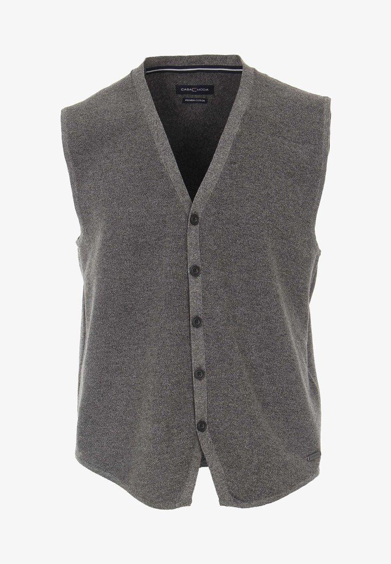 CASAMODA - Waistcoat - gray
