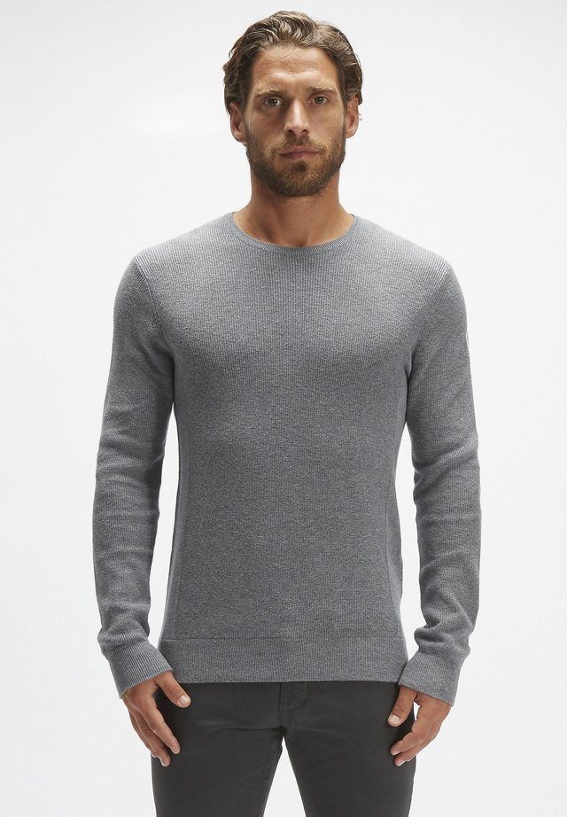 Jumper - medium grey melange