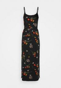 Even&Odd - Maxi dress - black/multicolor - 1