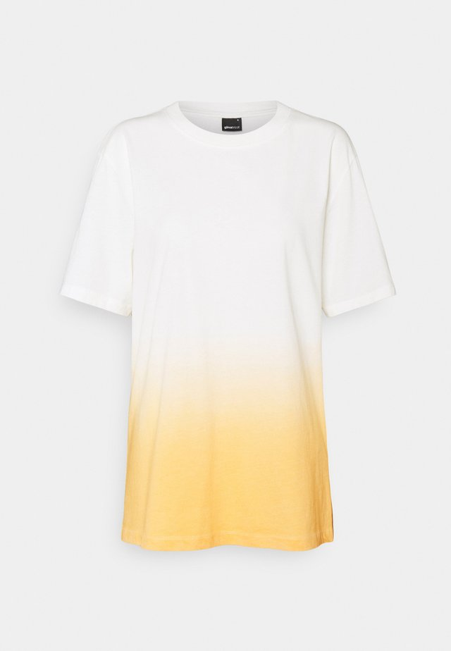 ELLIE TEE - T-shirt z nadrukiem - white