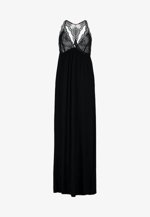 ANNA LONG VISCOSE DRESS  - Nightie - black